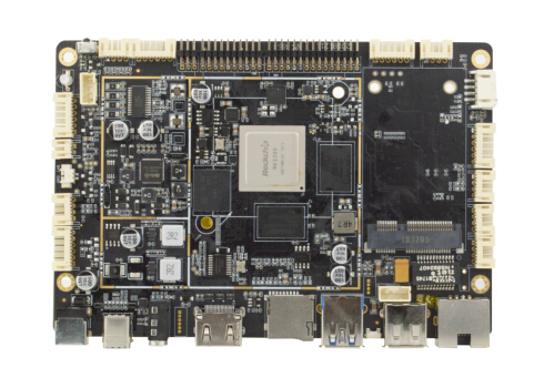 "RK3399 4G LTE Embedded System Board WIFI Ethernet PoE Optional 7""-84"" Display"