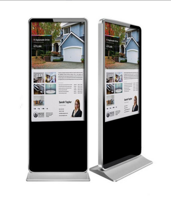 Floor Stand Digital Signage Displays , 42'' LCD Digital Advertising Player