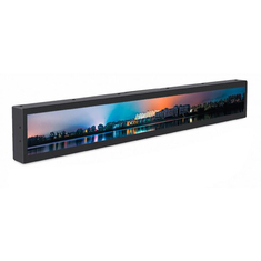 23.1 Inch Network Stretched LCD Display For Advertising Shelf