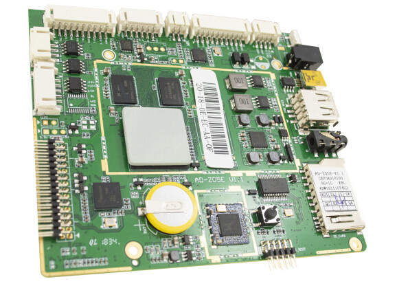 Quad Core Embedded System Board ARM Android WiFi Ethernet With Multiple Languages
