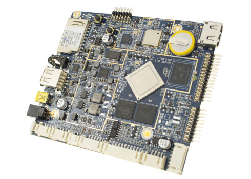 Face Recognition Android Embedded Board For Intelligent Gate Multi Network Interfaces