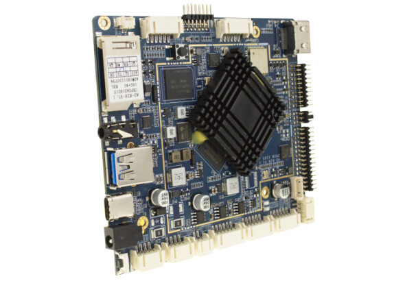 Six Core ARM Processor Board , 4GB RAM 32GB Mermory Embedded System Board