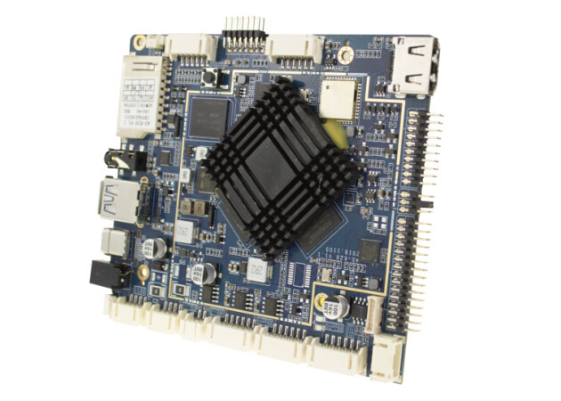 Dual Screen Embedded Computer Boards , Digital Signage Android OS Embedded CPU Boards