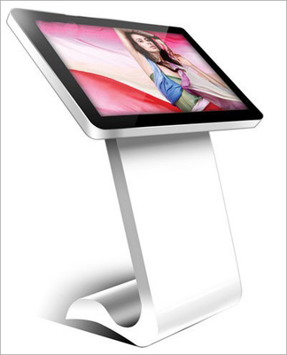 Android Interactive Digital Signage Touch Screen Kiosk 55 Inch 4G LTE WIFI RK3188 CPU