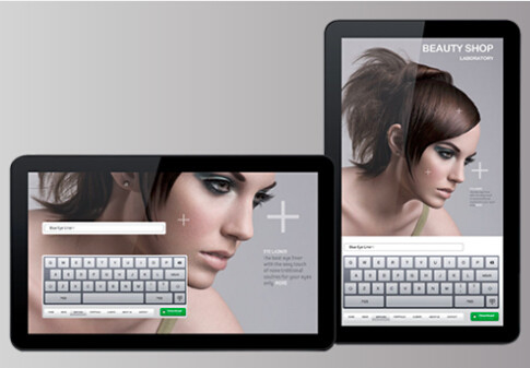 HDMI out Commercial Tablet PC Landscape portrait Tablet Android Advertising Display