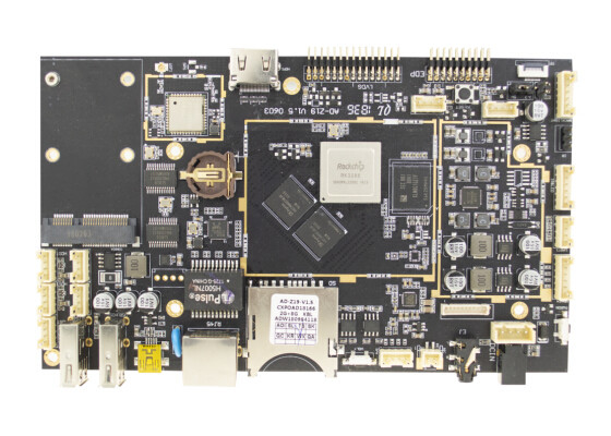 GPU ARM Development Board , LVDS EDP Screen Interface HDMI Out Industrial Motherboard