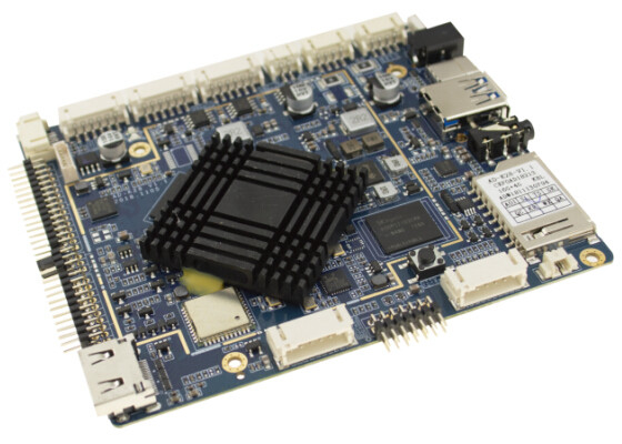 2.0 Ghz Frequency Embedded ARM Board , MP4 GPU BT4.0 Open Source ARM Board